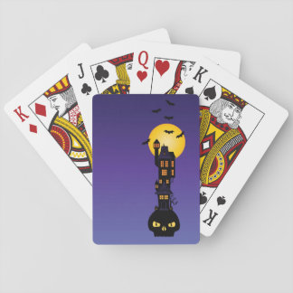 Haunted House Poker Deck