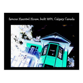 Haunted House Postcard (Calgary, Canada)