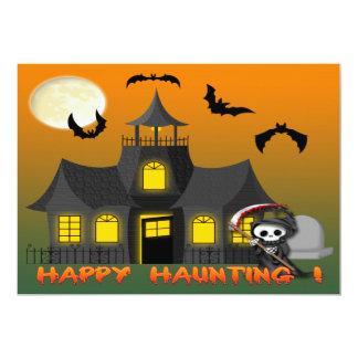 Haunted House Reaper Invitations
