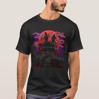 Haunted House t-shirt design