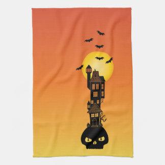 Haunted House Towel