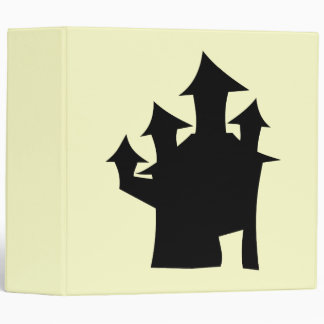 Haunted House with Four Towers. Vinyl Binders