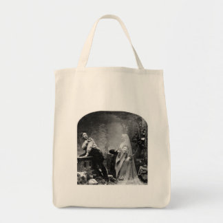 Haunted Lane - Vintage Ghost Photo 1880 Tote Bags
