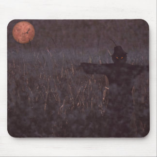 Haunted maize field mouse pad
