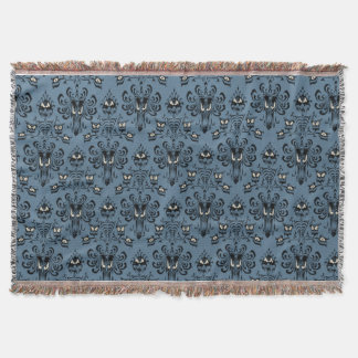Haunted Mansion Pattern Throw Blanket