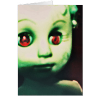 haunted red eyed doll products card