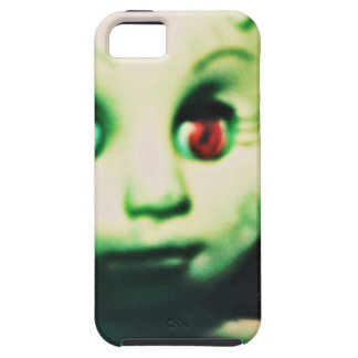 haunted red eyed doll products iPhone 5 case