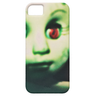 haunted red eyed doll products iPhone 5 cover