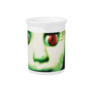 haunted red eyed doll products pitcher