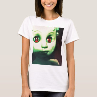 haunted red eyed doll products T-Shirt