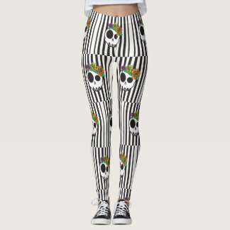 Haunted Skulls Leggings