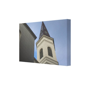Haunted Steeple Canvas Print