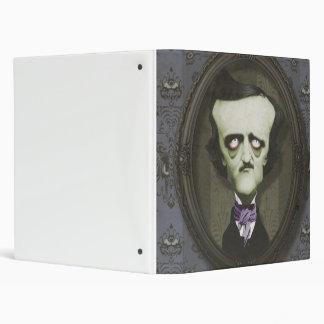 Haunted Zombie Edgar Alan Poe Binder