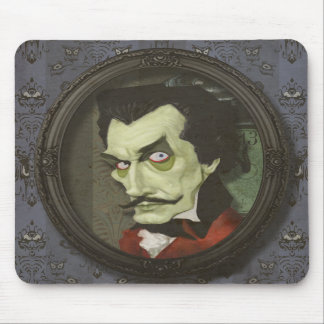 Haunted Zombie Vincent Price Satirical Mousepad