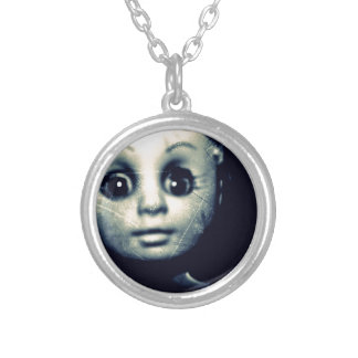 hauntier.JPG Silver Plated Necklace
