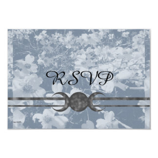Haunting Dogwood Triple Moon Handfasting Grays Card