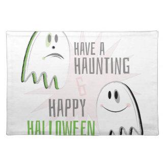 Haunting Halloween Place Mat
