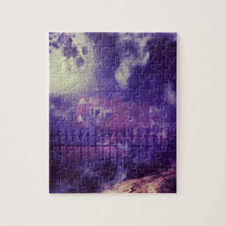 Haunting Harpers Ferry Jigsaw Puzzle