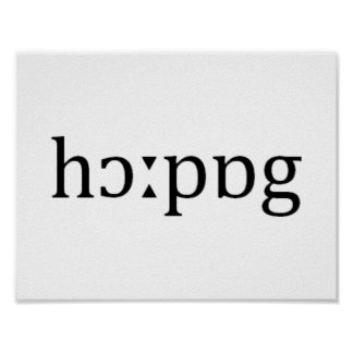 Hauppauge Long Island Phonetic Spelling Poster