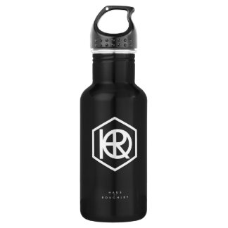 Haus of Roughley Black Water Bottle