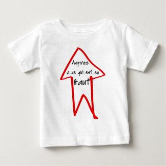 Haut d'en d'est de qui de la CE d'à d'Aspirez T-shirt