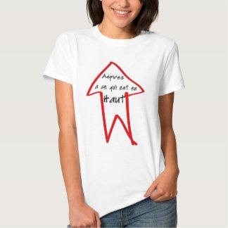 Haut d'en d'est de qui de la CE d'à d'Aspirez Tee-shirt
