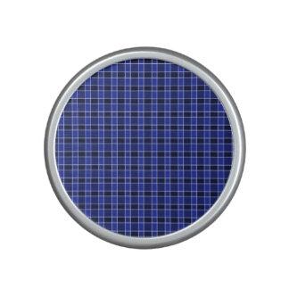 Haut-parleur bleu de Bumpster de plaid