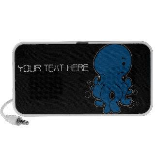 Haut-parleur (bleu) de griffonnage de Tako