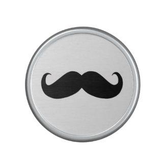 Haut-parleur de Bumpster de moustache de hippie