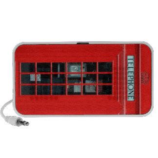 Haut-parleur de griffonnage de cabine de téléphone