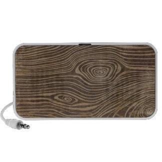 Haut-parleur de griffonnage de fibre de bois