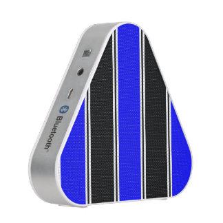 Haut-parleur noir et Bleu-Rayé de Pieladium Haut-parleur Bluetooth