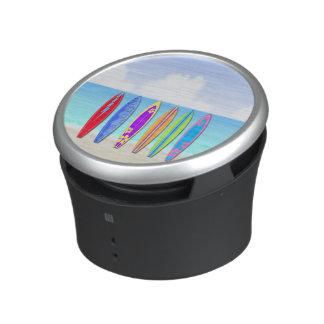 Haut-parleurs de Bumpster de plage de planches de Haut-parleur Bluetooth