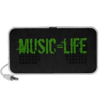 haut-parleurs de music=life