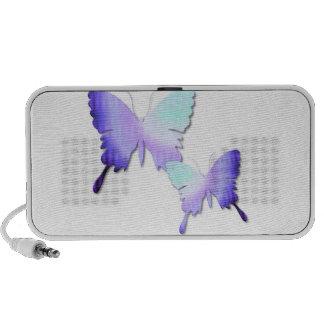 Haut-parleurs de Portable de conception de papillo