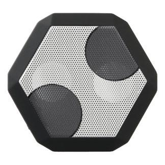 Haut-parleurs Noirs Sans-fils Points gris-foncé Checkered