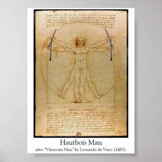 Hautbois Man Poster