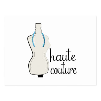 Haute Couture Post Card