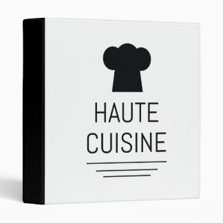 French chef binders custom french chef binder designs 3 - French haute cuisine dishes ...