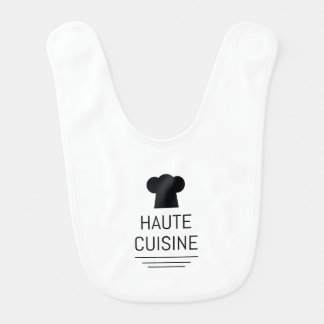 Haute Cuisine French Chef Cooking School Bib