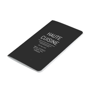 Haute Cuisine Funny French Chef Journal