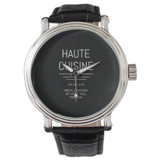 Haute Cuisine Funny French Chef Watch
