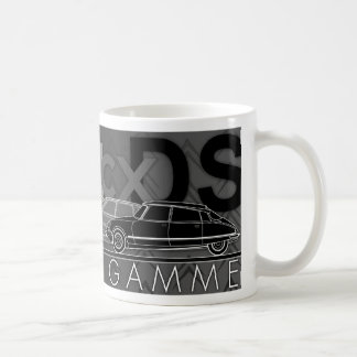"""Haute de Gamme"" Illustrated Citroen Car mug"