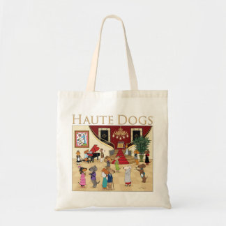 Haute Dogs Tote Bag