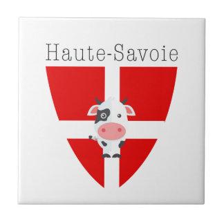Haute-Savoie Cow Ceramic Tile