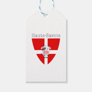 Haute-Savoie Cow Gift Tags