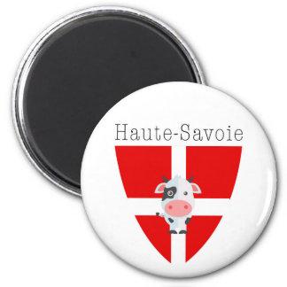Haute-Savoie Cow Magnet