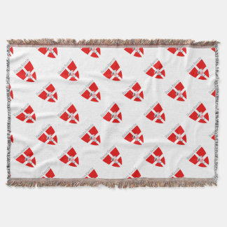 Haute-Savoie Cow Throw Blanket