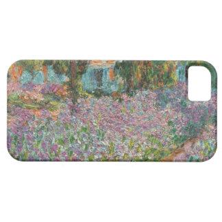 Hauts iris de recherche dans le jardin de Monet Coques iPhone 5 Case-Mate