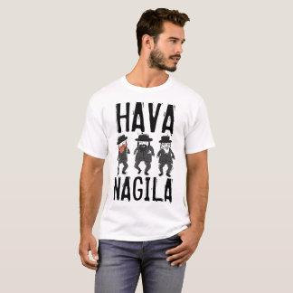 HAVA NAGILA Funny Joyful Jewish T-shirts